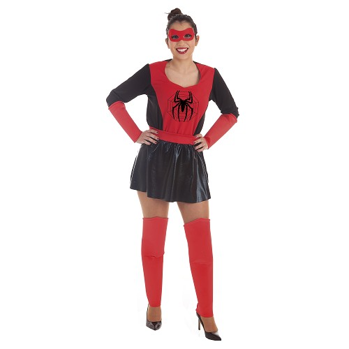 Disfraz Super Heroina Araña Adulto