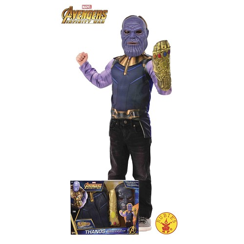 Disfraz Thanos con Pecho Caja Infantil
