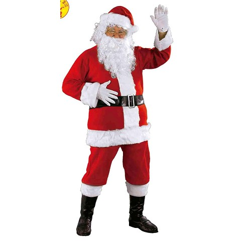 Disfraz Papá Noel Luxe Adulto T-U