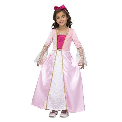 Disfraz Princesa Rosa Corazon Infantil