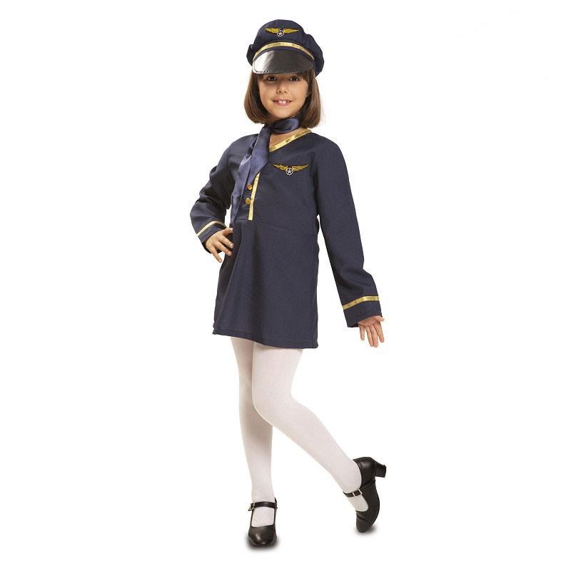 Disfraz Azafata Infantil