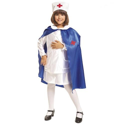 Disfraz Enfermera Con Capa Infantil
