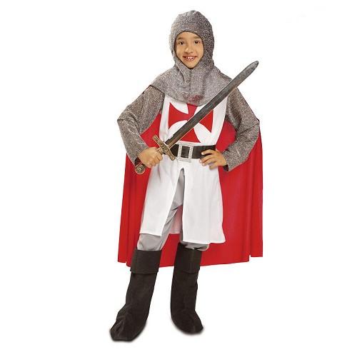 Disfraz Caballero Medieval Con Capa Niño