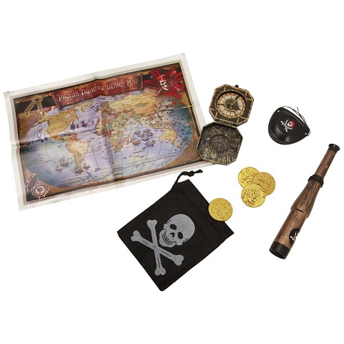 Set De Pirata De Luxe