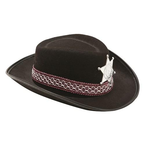 Sombrero De Vaquero Negro Infantil