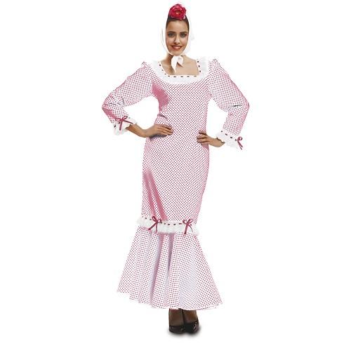 Disfraz Chulapa Madrileña Rojo Mujer