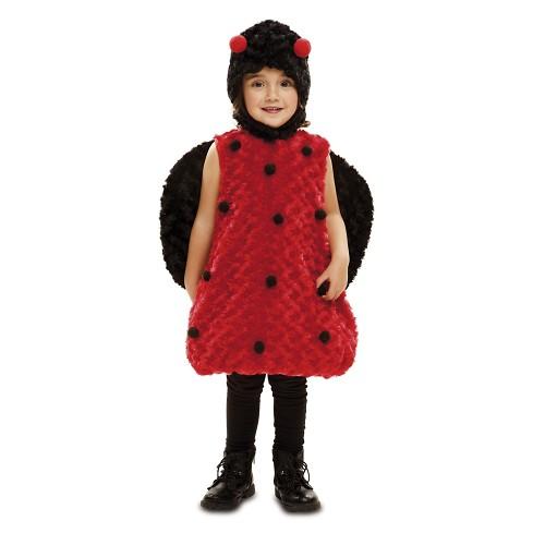Disfraz Mariquita Peluche Infantil