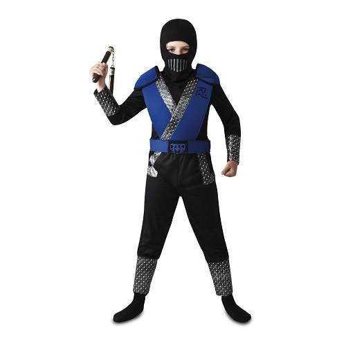 Disfraz Ninja Azul Niño