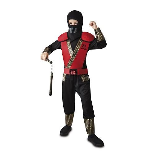 Disfraz Ninja Rojo Niño