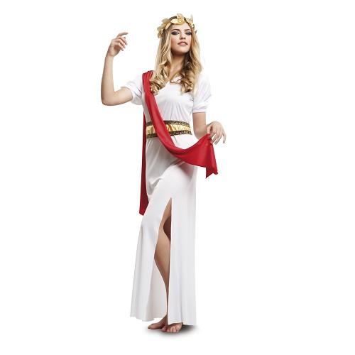 Disfraz Agripina Tunica Roja Mujer
