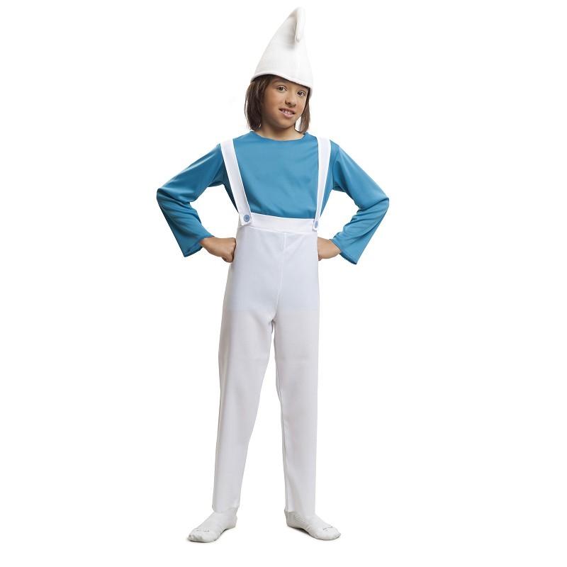 Disfraz Duende Azul Niño