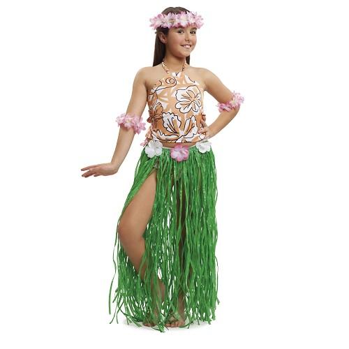 Disfraz Hawaiana Chic Niña
