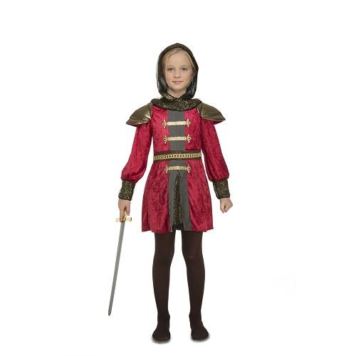 Disfraz Doncella Medieval Niña