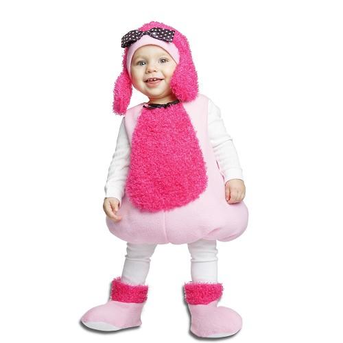 Disfraz Pequeña Poodle Rosa Infantil