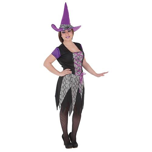 Bruxa traje adulto Carla