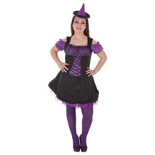 Bruxa traje adulto Petita
