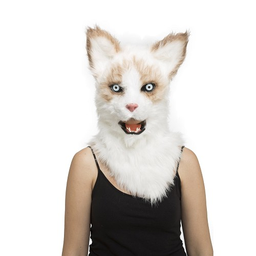Máscara Con Mandíbula Móvil Gato Adulto