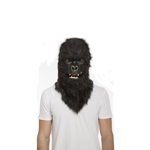 Máscara Con Mandíbula Móvil Gorila Adulto