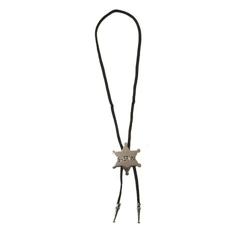 Estrella De Sheriff Con Colgante Metal 43 X 5 Cm