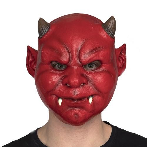 Máscara Completa Demonio Rojo