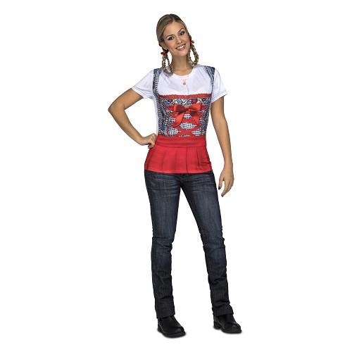 Red Oktoberfest Lady