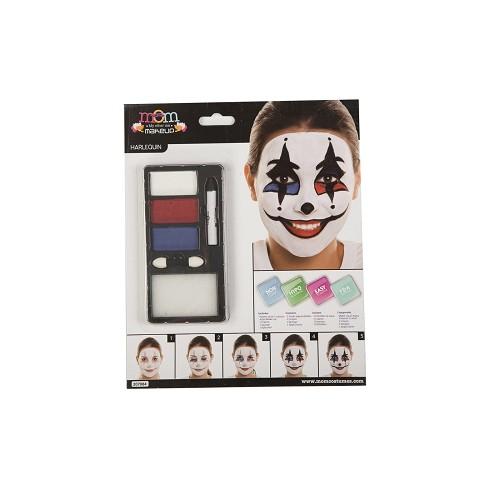 Kit Maquillaje Adulto Arlequin 24 X 20 Cm