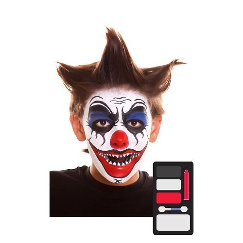 Kit Maquillaje Inf. Payaso Diabólico 24 X 20 Cm