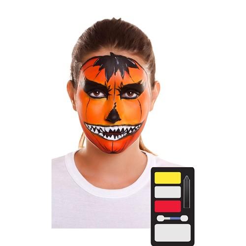 Kit Maquillaje Adulto Calabaza 24 X 20 Cm