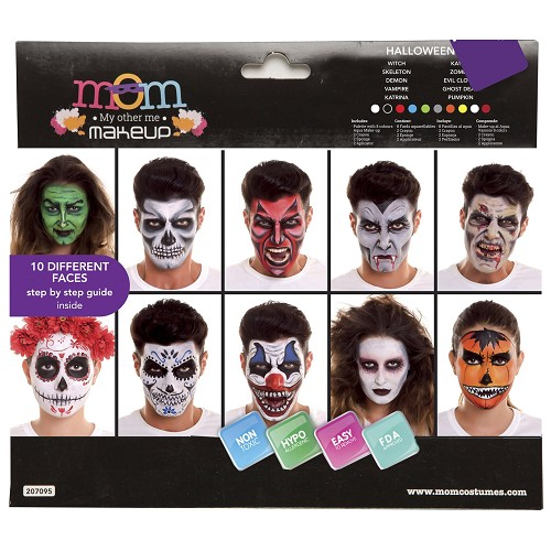 Set Maq. Fiesta Halloween Ad. 20 X 23 X 2 Cm