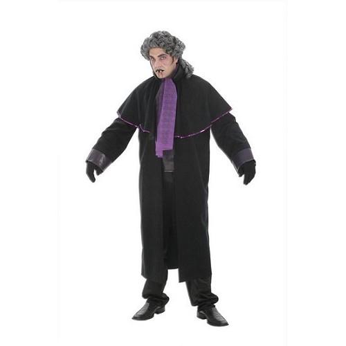 Roxo de traje adulto vampiro sem peruca