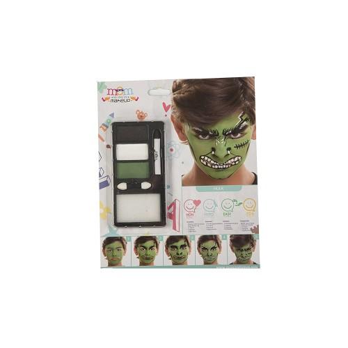 Kit Maquillaje Inf. Hulk