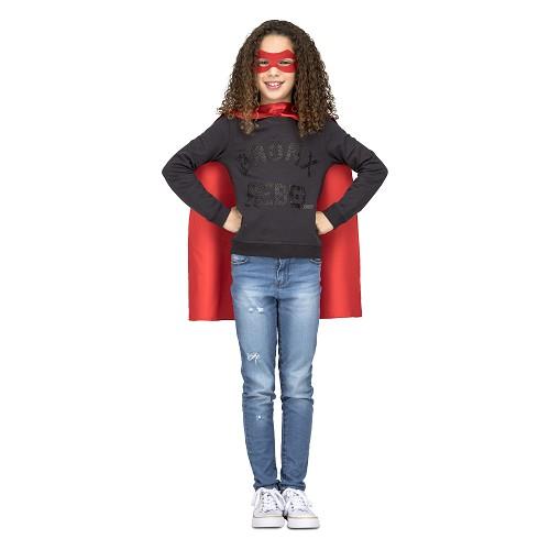 Capa Super Heroe Roja Infantil