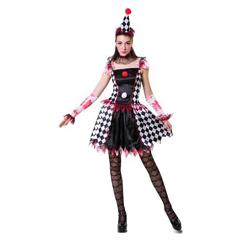 Disfraz Arlequina Traviesa Mujer