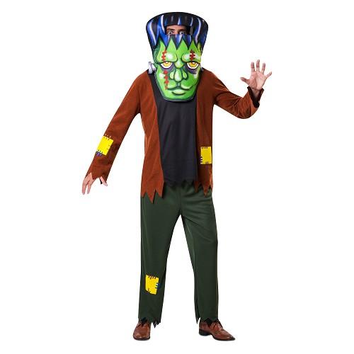Disfraz Frankenstein Cabezudo Adulto