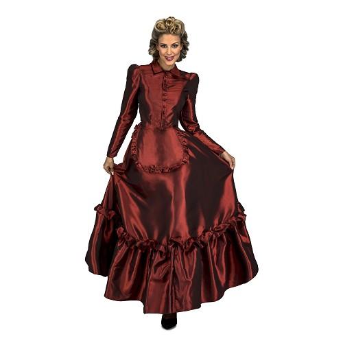Disfraz Escarlata Del Oeste Mujer