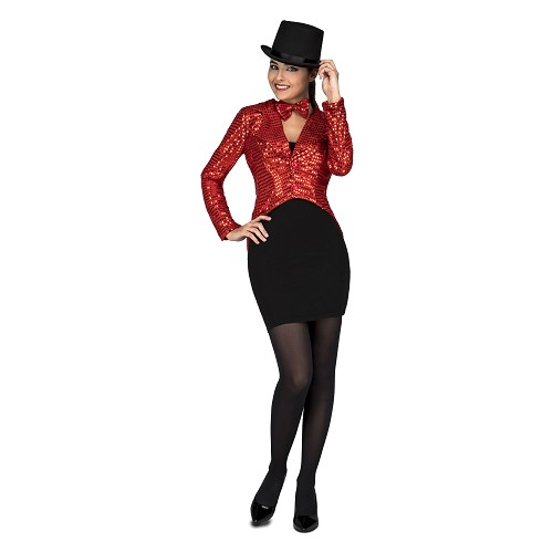 Chaqué Show Woman Rojo
