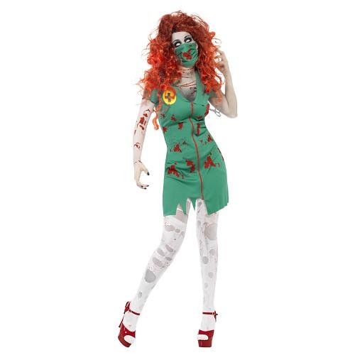 Disfraz Enfermera Zombie Adulto