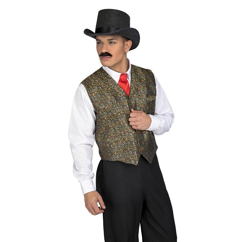 Disfraz Chaleco Croupier Hombre