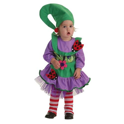 Fantasia de bebê Duendecilla verde (0 a 12 meses)