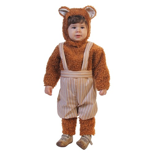 Fantasia bebê urso (0 a 12 meses)