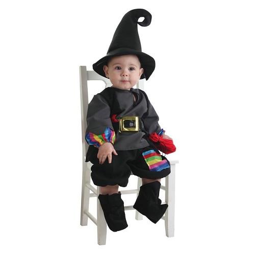 Fantasia de bebê Colorines Warlock (0 a 12 meses)