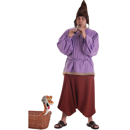 Fantasia Adulto de flautista medieval