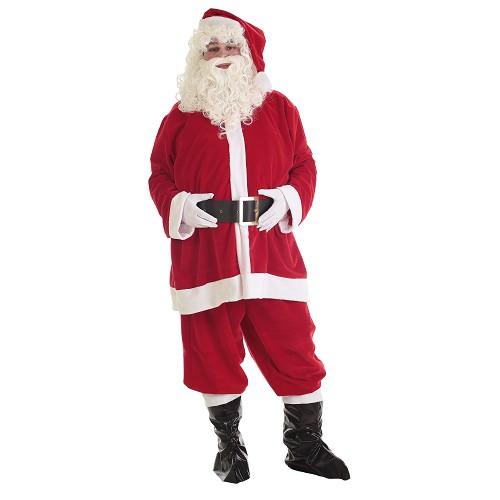 Disfraz Adulto Papá Noel Lux