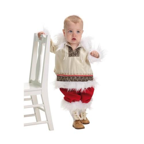Bebê fantasia esquimó (0 a 12 meses)