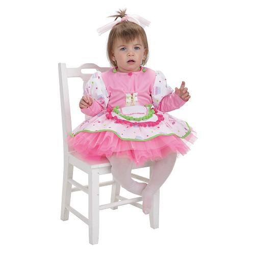Fantasia de bebê bolo de Copa (0-12 meses)