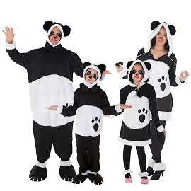 Disfarces Pandas Fofinhos