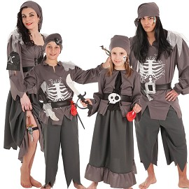 Disfarces de Esqueleto Pirata