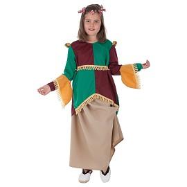 Disfarces Medieval Menina