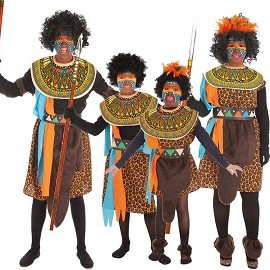 Disfarces Africanos