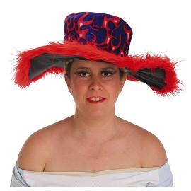 Chapéus do vestido extravagante